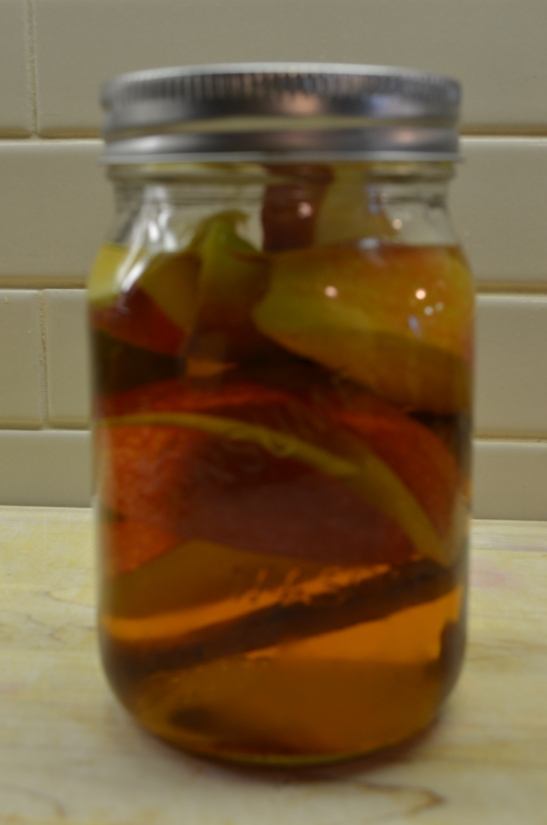 Apple-Cinnamon-Infused Whiskey