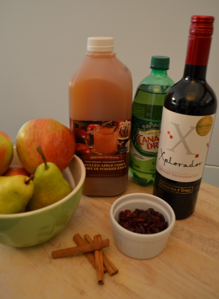 Apple Cider Sangria - What You Need