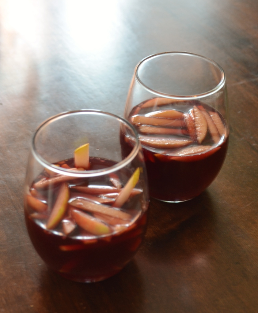 Apple Cider Sangria - Enjoy!